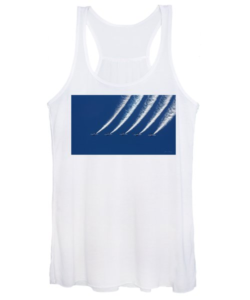Blue Angels Formation Women's Tank Top