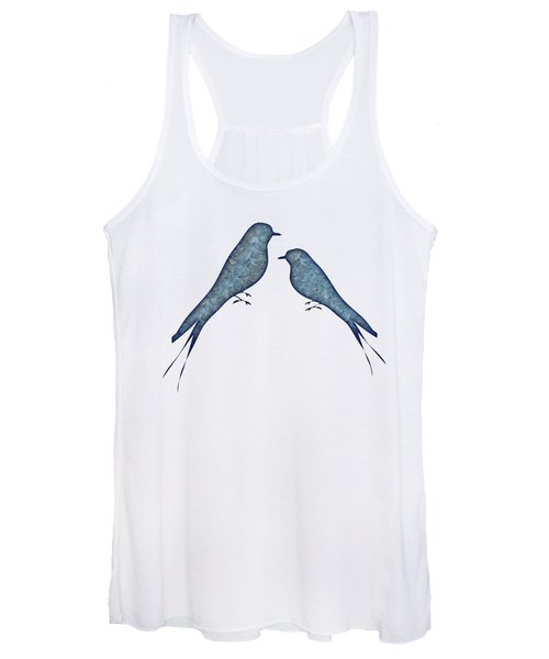 Blue Birds 2  Women's Tank Top