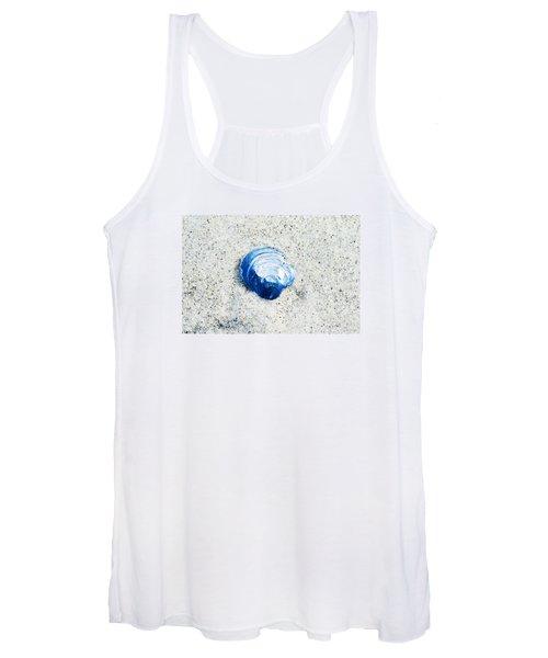 Blue Seashell By Sharon Cummings Women's Tank Top