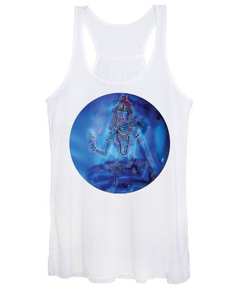 Blue Shiva  Women's Tank Top