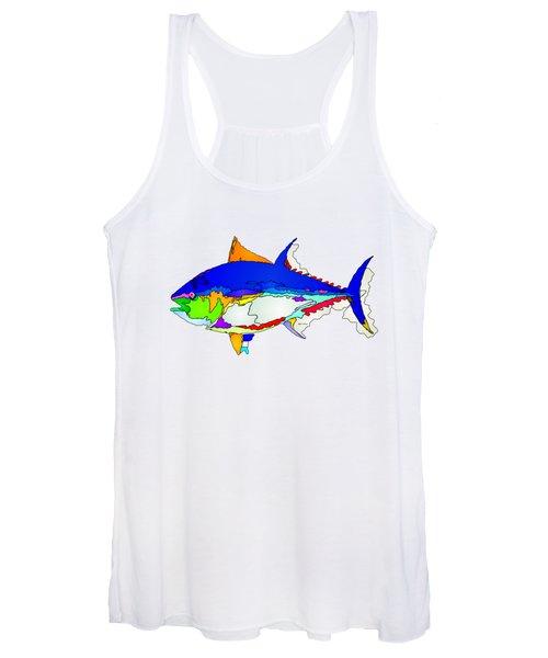 Bluefin Tuna  Women's Tank Top