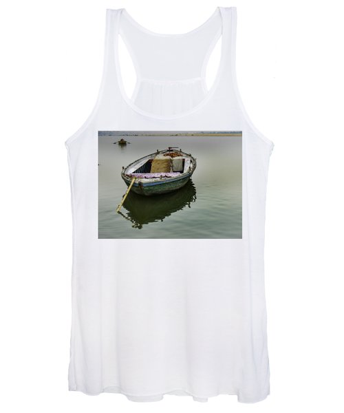 boat at Ganges Women's Tank Top