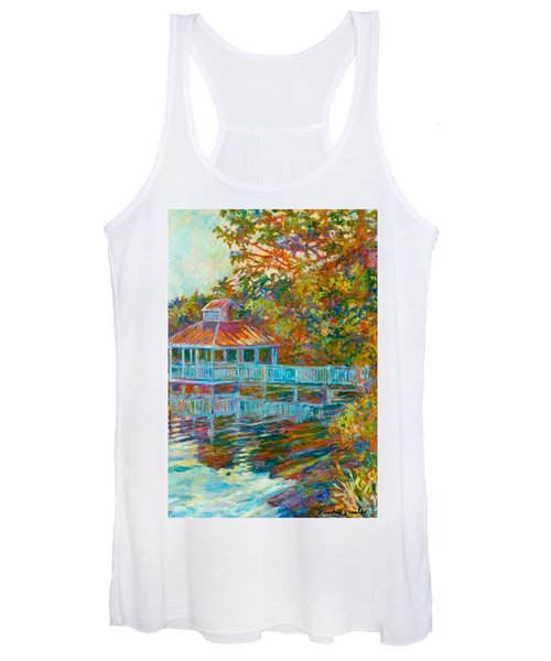 Boathouse At Mountain Lake Women's Tank Top