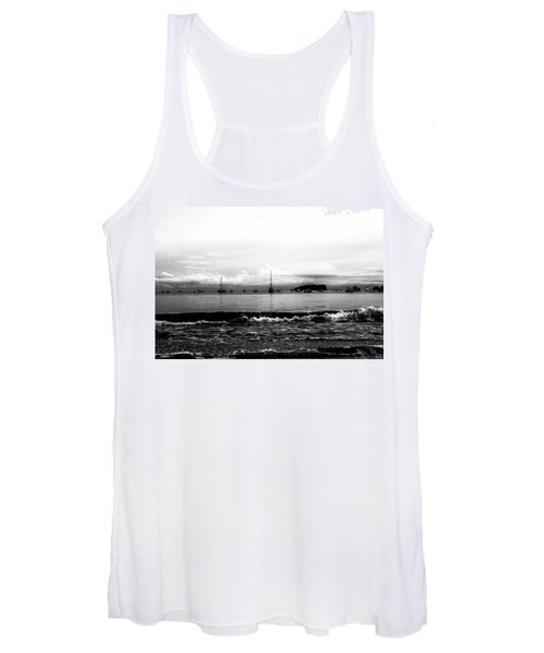 Boats And Clouds Women's Tank Top