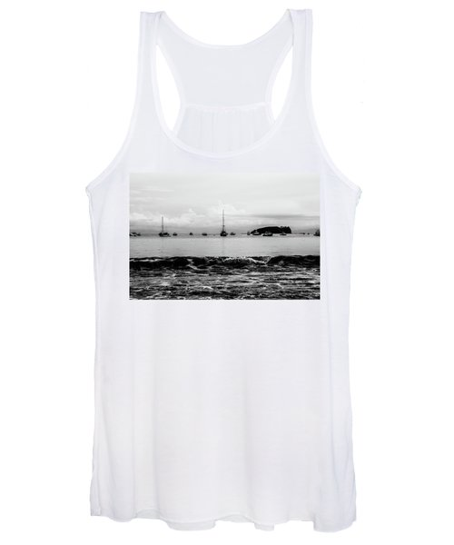 Boats And Waves 2 Women's Tank Top