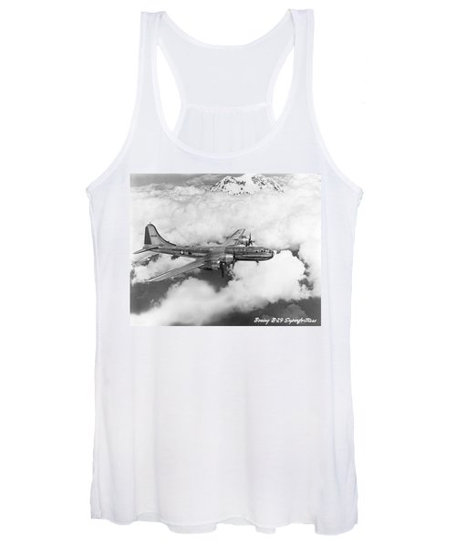 Boeing B-29 Superfortress Women's Tank Top
