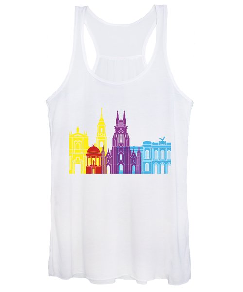 Bogota Skyline Pop Women's Tank Top