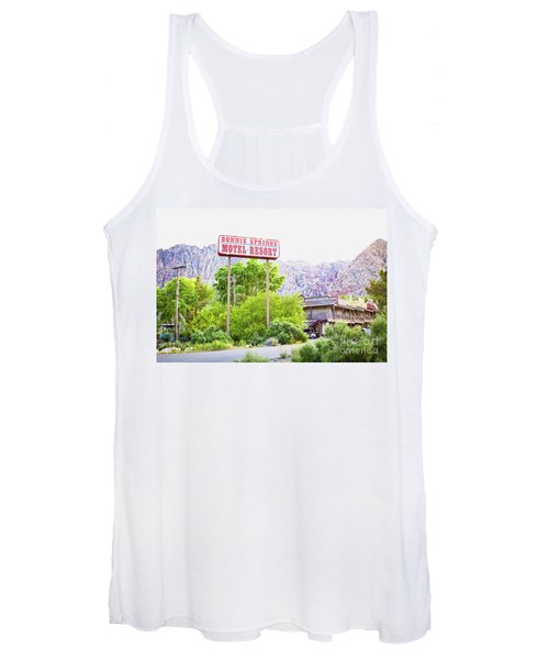 Bonnie Springs Motel Resort Women's Tank Top