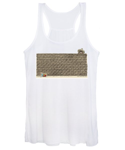 Border Wall Women's Tank Top