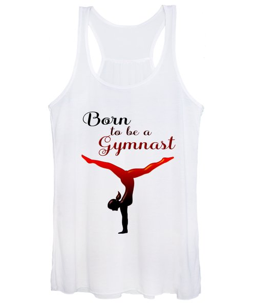Born To Be A Gymnast Women's Tank Top