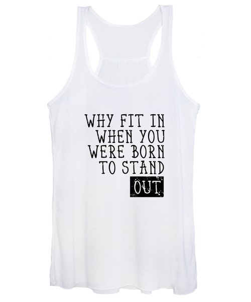 Born To Stand Out Women's Tank Top