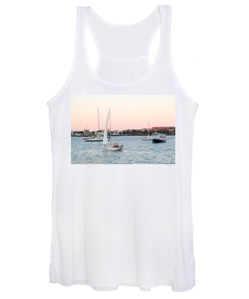 Boston Harbor View Women's Tank Top