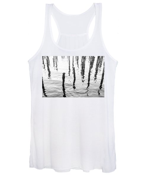 Boston Wharf Ruins Women's Tank Top