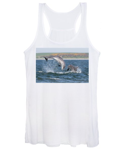 Bottlenose Dolphin - Moray Firth Scotland #49 Women's Tank Top