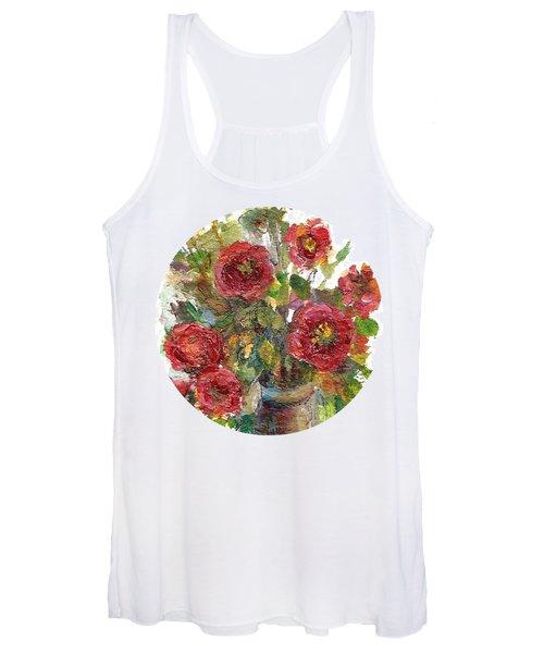 Bouquet Of Poppies Women's Tank Top