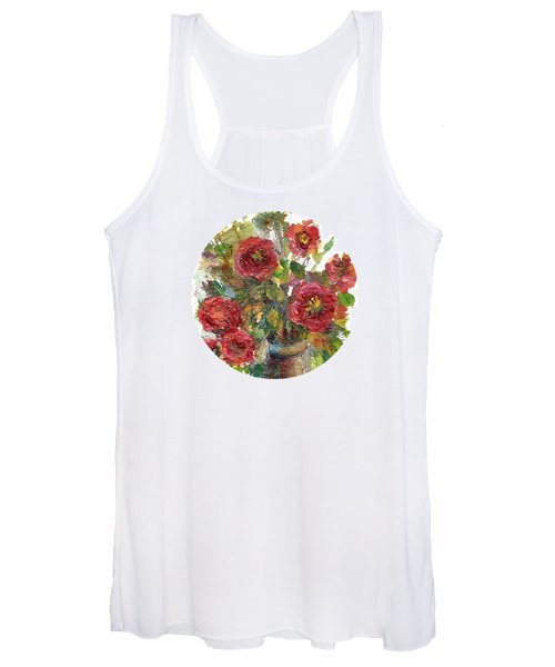 Bouquet Of Poppies Women's Tank Top