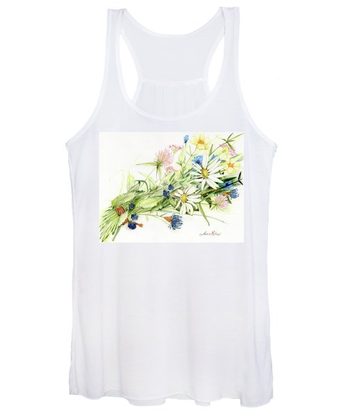Bouquet Of Wildflowers Women's Tank Top