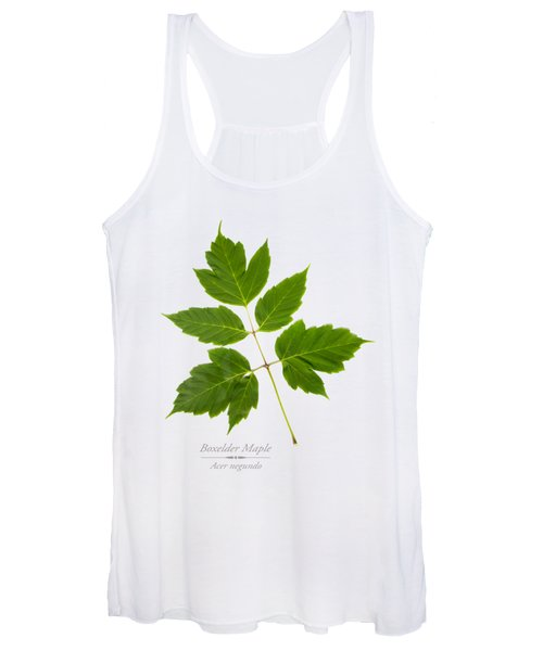 Box Elder Maple Leaf Women's Tank Top
