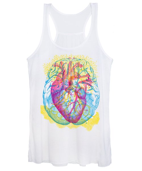 Brain Heart Circulation Women's Tank Top