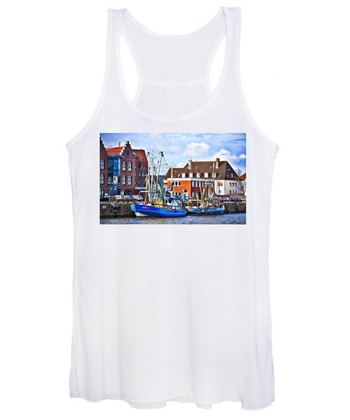 Bremerhaven Harbor, Germany Women's Tank Top