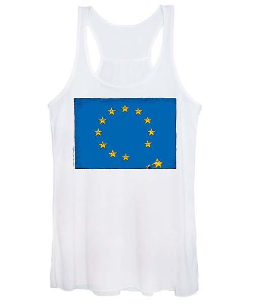 Brexit Eu Flag  Women's Tank Top