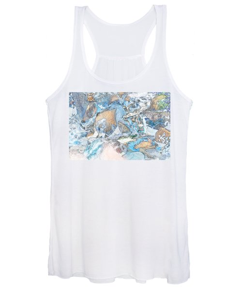 Bridal Veil Fall Women's Tank Top