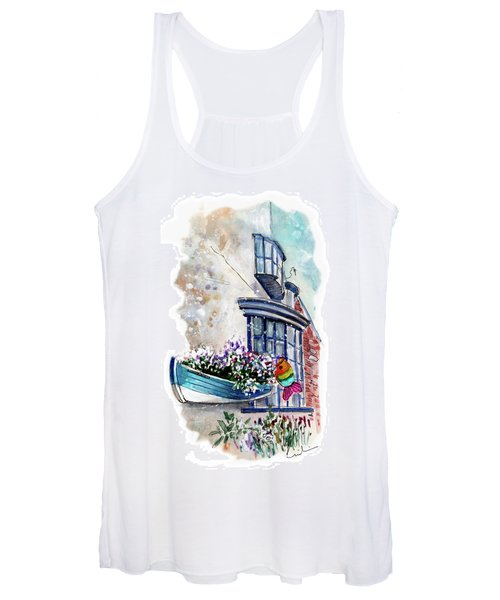 Broadies By The Sea In Staithes Women's Tank Top