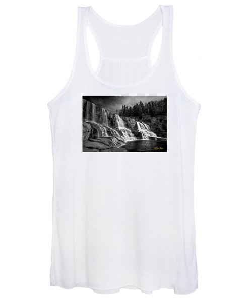 Brooding Gooseberry Falls Women's Tank Top
