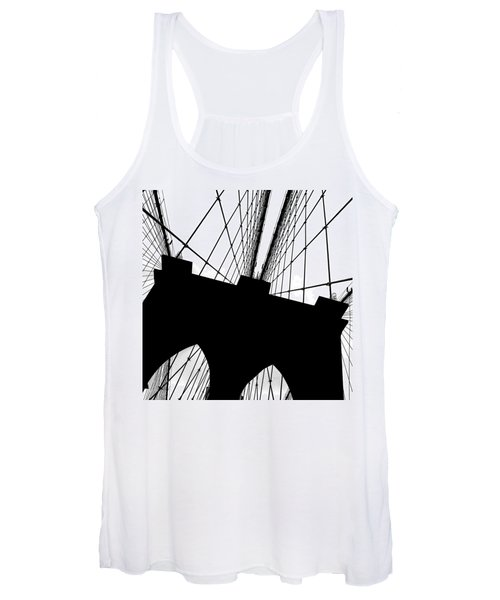 Brooklyn Bridge Architectural View Women's Tank Top