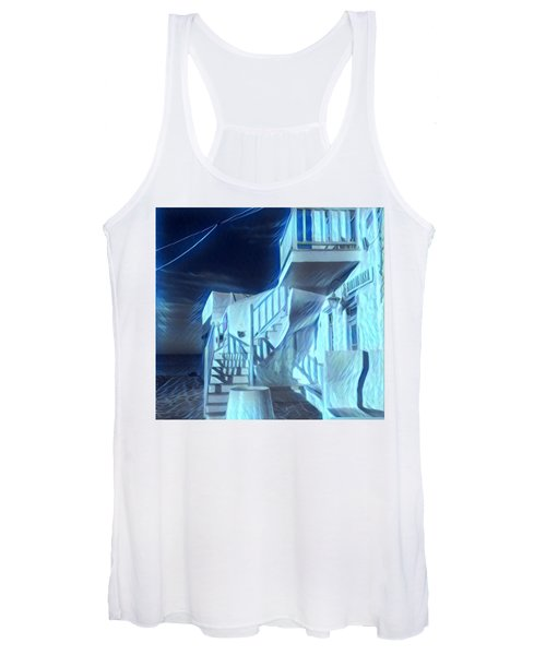 Building At Harbour  Women's Tank Top