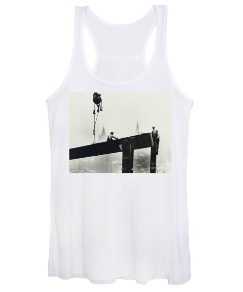 Building The Empire State Building Women's Tank Top