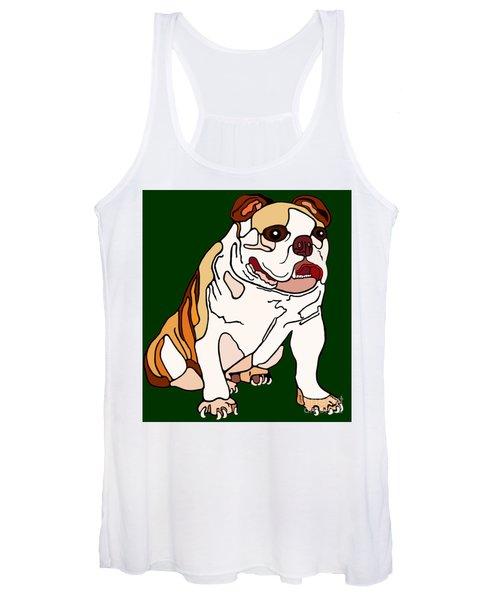 Bulldog Women's Tank Top