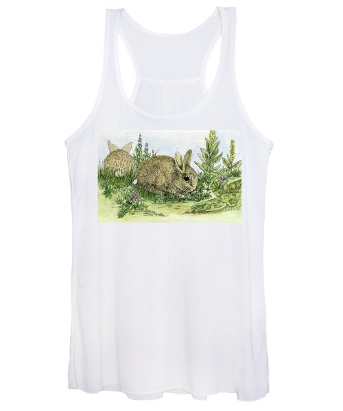 Bunnies Women's Tank Top