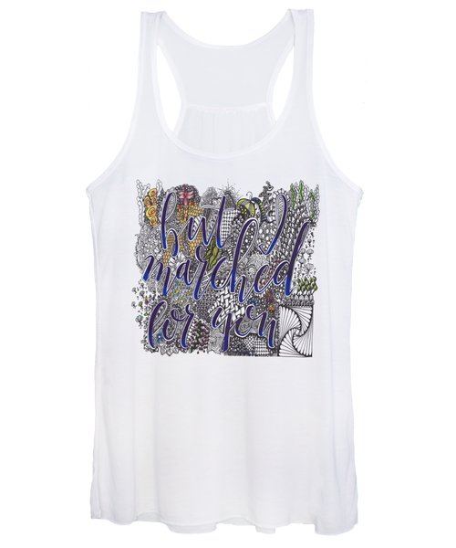 But I Marched Women's Tank Top
