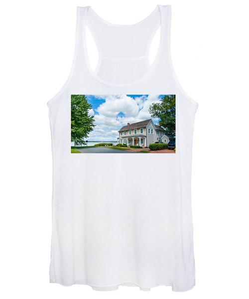 By The Water In Oxford Md Women's Tank Top