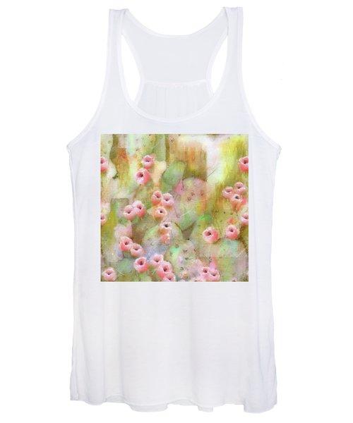Cactus Rose Women's Tank Top