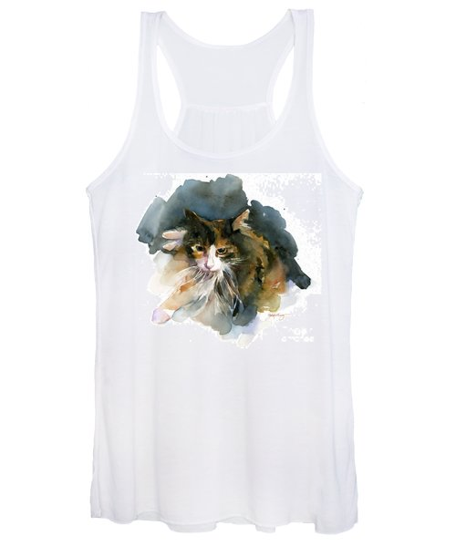 Calico Cat Women's Tank Top