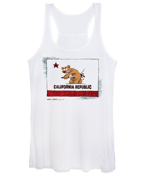California Budget Harakiri Women's Tank Top