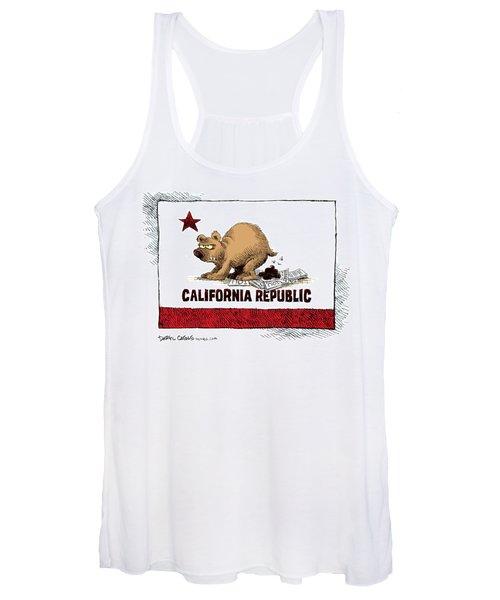California Budget Iou Women's Tank Top