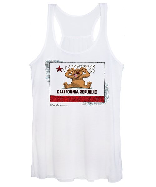 California Budget La La La Women's Tank Top