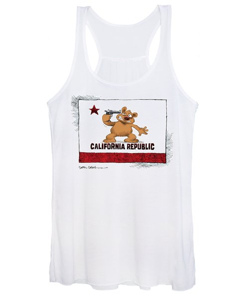 California Budget Suicide Women's Tank Top