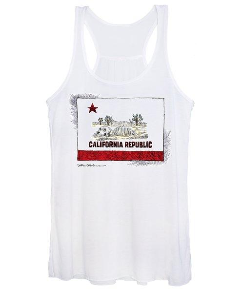 California Drought Women's Tank Top