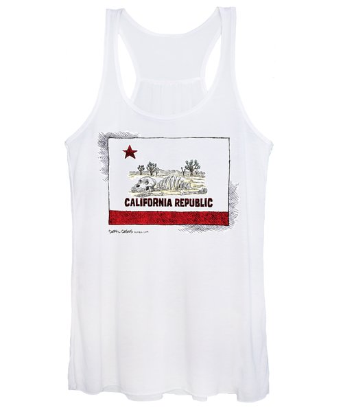 California Drought Women's Tank Top