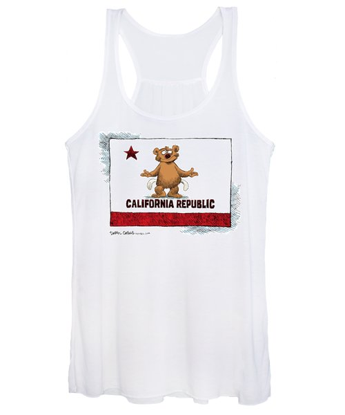 California Empty Pockets Women's Tank Top