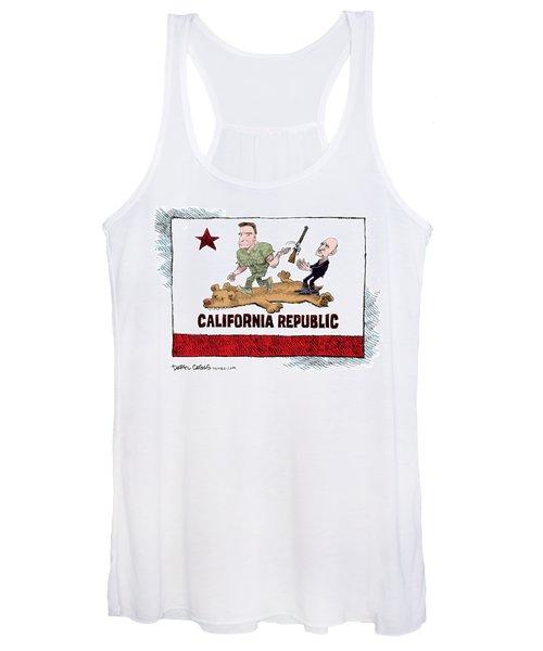 California Governor Handoff Women's Tank Top
