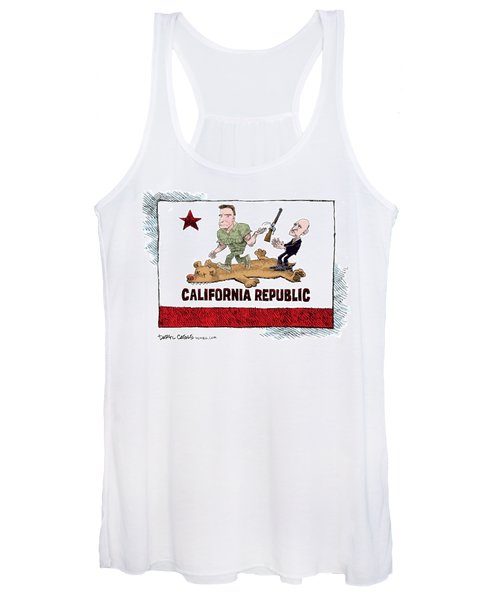 California Governor Handoff Women's Tank Top
