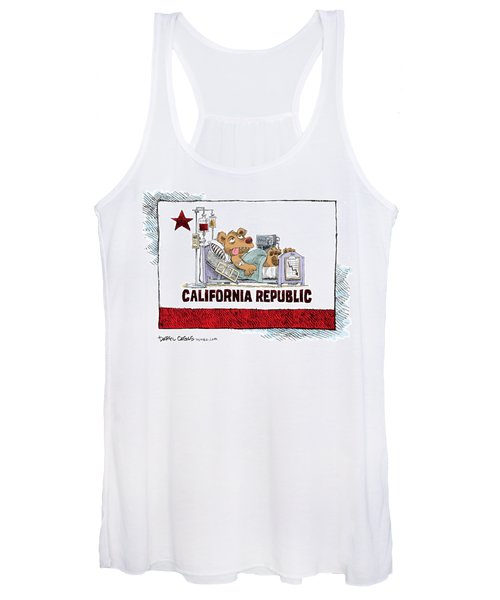 California Is Sick Women's Tank Top