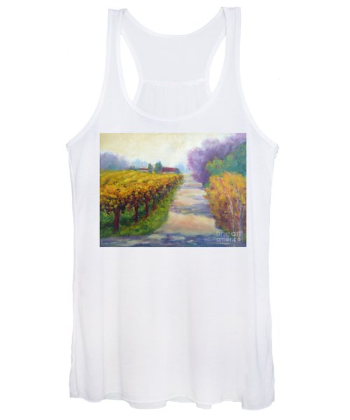California Wine Country Women's Tank Top