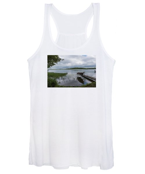 Camelot Island From Wilderness Point Women's Tank Top