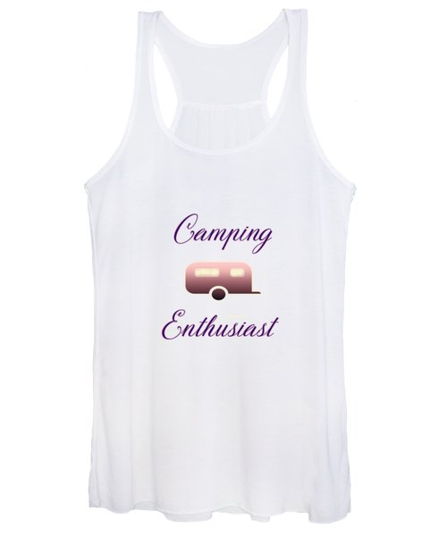 Camping Enthusiast Women's Tank Top